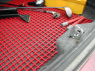 truck & compartment, cabinet mats