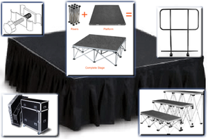 ExpressDeck Portable Stage Individual